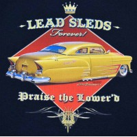 Lead Aint Dead Custom Chevy Low Rider
