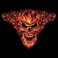 Raging Inferno Skull